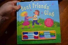 ~ BEST FRIENDS CLUB  ~ CHILDRENS BOOK LEARN TO MAKE YOUR OWN BRACELETS +MATERIAL