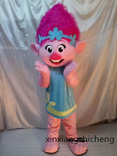 New Arrival Princess Poppy Mascot Costume Troll Costume Free Shipping