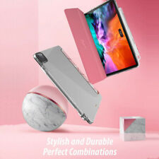 iPad Pro 12.9 (2020&2018) Tablet Smart Case Soft TPU Cover Liquid Marble Pink