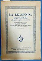 1921 - SIMBOLISMO - MASSONERIA - ESOTERICA - SAUNIER