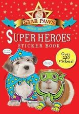 Super Heroes Sticker Book Star Paws Animal Dress-Up