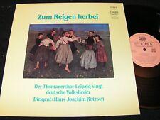ZUM REIGEN HERBEI Thomanerchor Leipzig / DDR Reissue LP 1989 ETERNA DMM 735208