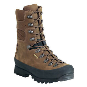 Kenetrek Men's Brown Size 10 Narrow Mountain Extreme Non-Insulated Hunting Boots