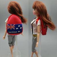 """Fashion 1:6 Dolls Bag Backpack For 11.5"""" Doll Knapsack Packsack For blythe doll"""