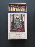 Hungarian Kings - Aba Samuel_Matchbook w. safety match