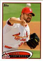 2012 Topps Update MLB Baseball Card Singles Rookie RC You Pick