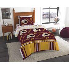 Washington Redskins Nfl Twin 4 Piece Comforter Bedding Team Logo Bed in Bag Set
