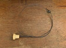 Original Porsche 356 A Front Trunk Lid Pull w/ Cable - Ivory Knob - Cable Stay