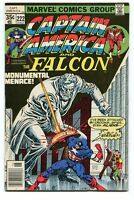 Captain America 222 VF- Falcon (1968) Marvel Comics CBX1Y