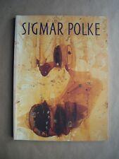 """ Sigmar POLKE "" Catalogue SIGNé / HANDSIGNED by the Artist, 1990  richter lueg"