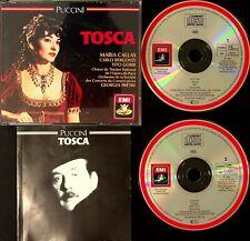 EMI W.GERMANY SONOPRESS- Puccini: Tosca MARIA CALLAS Pretre/Bergonzi/Gobbi 2-CD