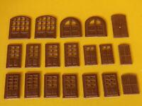 Porte doors modelling per edificio - casa per modellismo HO - 1:87 pz.19 - Krea