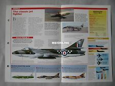 Aircraft of the World Card 46 , Group 4 - Hawker Hunter Mk 6-11