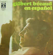 GILBERT BECAUD-EN ESPAÑOL LP VINILO 1970 SPAIN EX-EX
