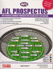 AFL PROSPECTUS – Champion Data 13th Edition   2018