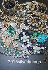 Job Lot Broken Bling Rhinestone Diamante Costume Jewellery Spare Repair Crafts