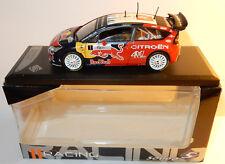 SOLIDO RACING CITROEN C4 WRC 2008 RALLYE SPORT TOUR DE CORSE N°1 LOEB 1/43 BOX