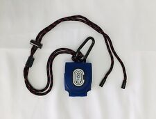 🔥Coach Wireless Earbud/ AirPods Case With Lanyard & Carabiner #79725 Blue