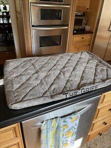 New Orvis Dog Bed COVER ONLY Platform Chevron Med Monogram