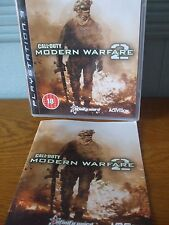 Call of Duty Modern Warfare 2 juego de Playstation 3 PAL Reino Unido con instrucciones buena