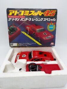 Vintage 70's Asahi Atcomi Japan De Tomaso Pantera RC Car Taiyo Nikko Shinsei
