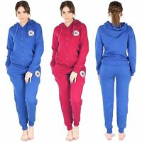 New Womens Ladies Girls All Star New York Jogging Bottoms Top Jog Track Suits