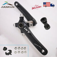 US STOCK Single/Double/Triple 7/8/9/10/11s 104bcd Crankset MTB Bike Crank set BB