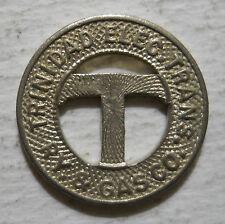 Trinidad Elec. Trans. Railway & Gas Company (Colorado)  transit token - CO860C