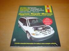 Haynes CHRYSLER GRAND VOYAGER (96-02) Owners Service Repair Manual Handbook Book