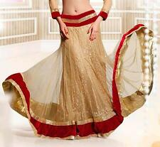 Bollywood Boho Kuchi Tribal Belly Dance Dancing Indian lengha skirt Ganesha sari