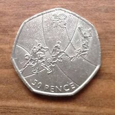 BASKETBALL 50p FIFTY PENCE COIN 2011 Limited Commemorative LONDON OLYMPICS 2012