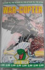 War-Copter (Byte Back 1989) Atari 800XL / 130XE Cassette (Tape, Box Manual)