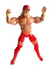 "WWE WWF TNA WRESTLING Hulk Hogan HULKMANIA 6"" superpose figure  RARE!"