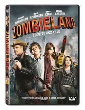 Zombieland 2010 Woody Harrelson, Jesse Eisenberg BRAND NEW AND SEALED UK R2 DVD