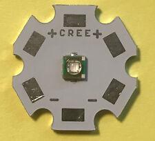 Cree X LED royalblue, rot, weiss,  UV 395 / 430nm, LED fertigmontiert auf PCB