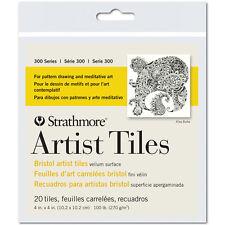 Strathmore Artist Tile Pack Bristol Vellum