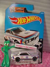 Case K 2016 i Hot Wheels '73 BMW 3.0 CSL RACE CAR #190✰White; Castrol 68✰BMW