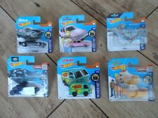 Hot Wheels Lot x6 Screen Time Tv/Films/Movies Simpsons/Scooby-Doo New/Sealed