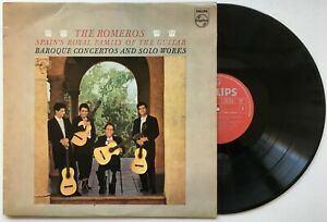 THE ROMEROS - SPAIN'S ROYAL FAMILY OF THE GUITAR Baroque Concertos & Solos Works