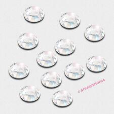 Pedrería HotFix rhinestones 100 unidades Crystal ø6mm