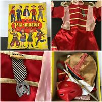 Vtg 1950s 60s PLA-MASTER Play Suit MAJORETTE Costume Baton Hat & Outfit Sz 5-6?