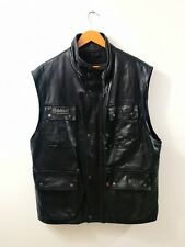 BELSTAFF SMANICATO IN PELLE UOMO TG.L MAN LEATHER JACKET CASUAL VINTAGE