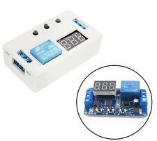 12V LED Automation Delay Timer Control Switch Relay Module with case AU