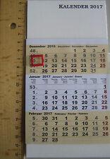 3 Monatskalender