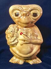 Vintage E.T. Extra Terrestrial Ceramic Figure Rare Find
