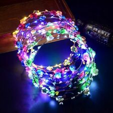 Tourist For Women Girls Hair Accessories LED Light Glowing Wreath Headwear