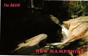 Vintage Postcard  - The Basin On Pemigewasset River New Hampshire NH #6725