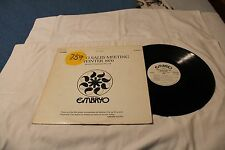 EMBRYO SALES MEETING WINTER 1970-Promo LP STEREO