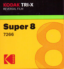 Kodak Tri-X Super 8mm Black & White Reversal Film (FRESH FROM THE FACTORY!)