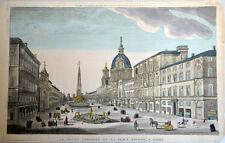 Vue d'optique Piazza Navona